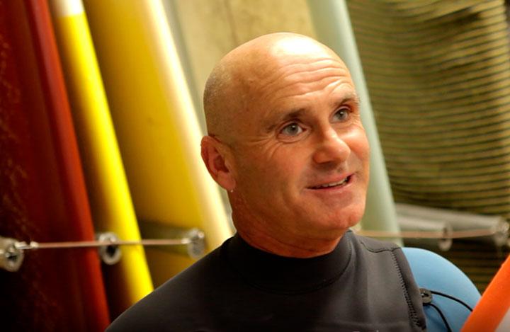 Aitor Frantzesena, surflari itsua