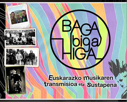 BAGA-BIGA-HIGA emanaldia Mikel Markez eta Eñaut Elorrietaren eskutik Durangon