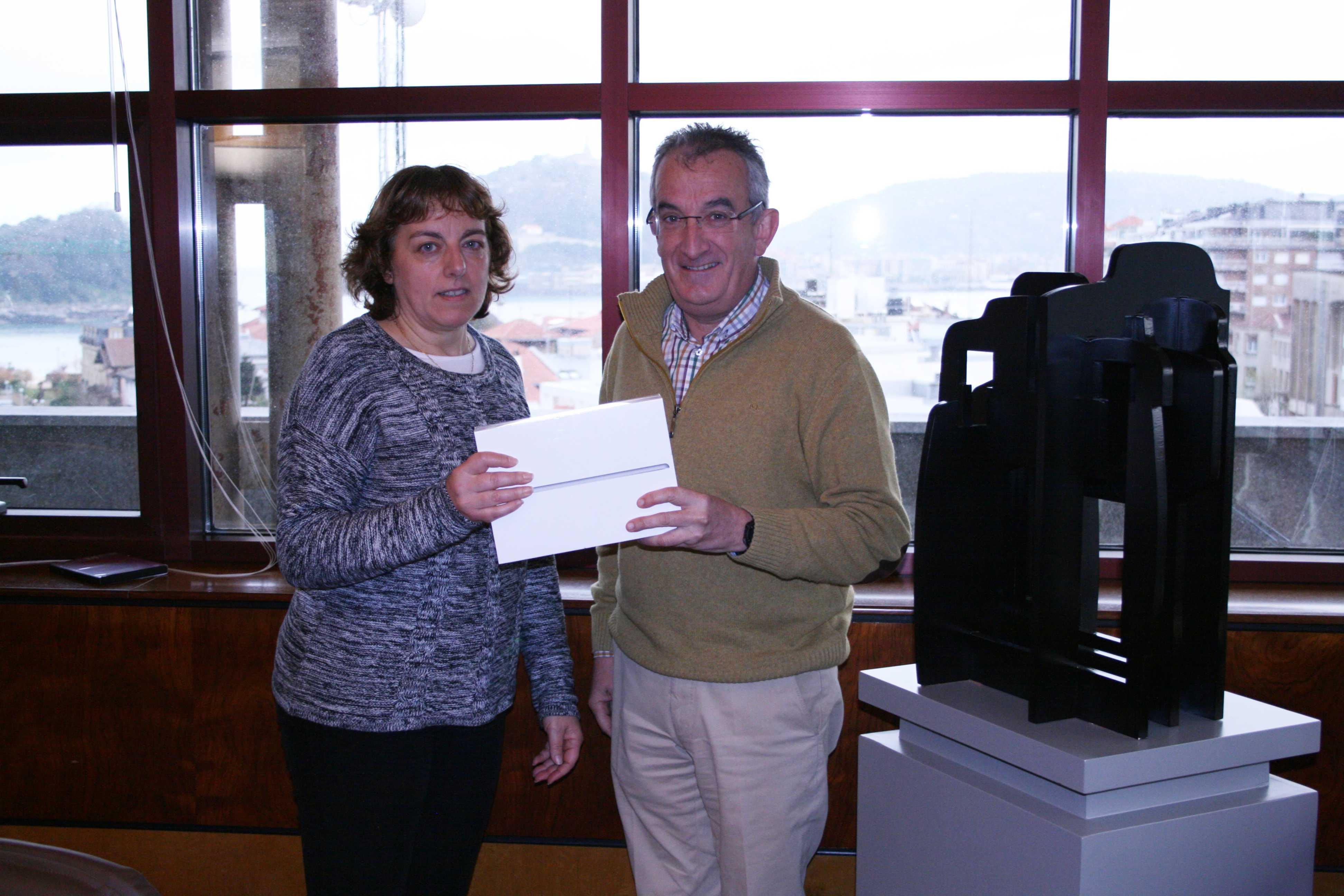 iPad minia, Arantza Uribe Balantzategirentzat