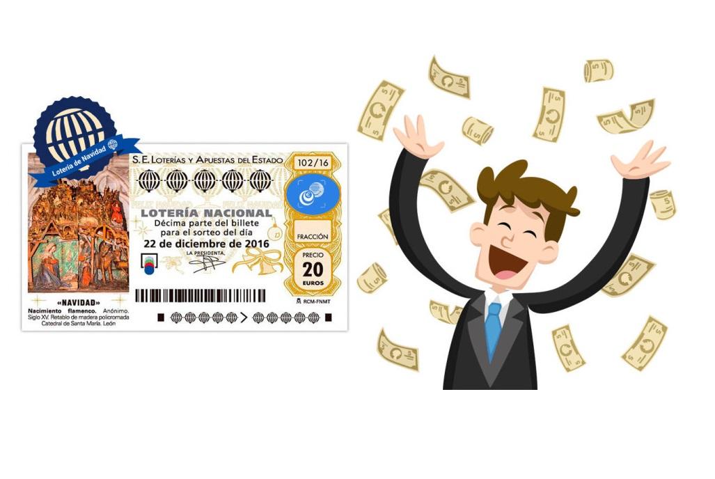 Jokatzen al duzu loterian?