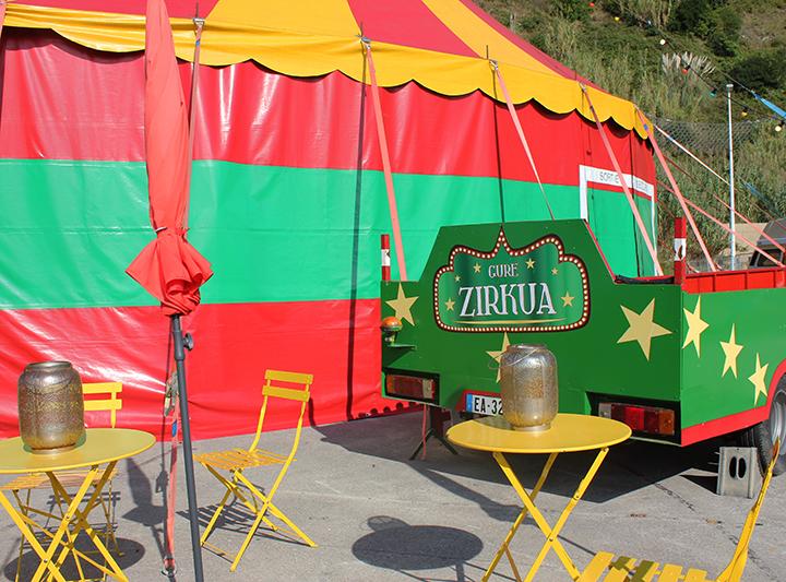 Gure Zirkua, lehenengo euskal zirku ibiltaria