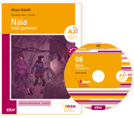 Naia India gorrietan (+CD)