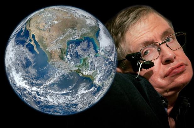 Stephen Hawking, unibertsoa gurpil-aulki batetik
