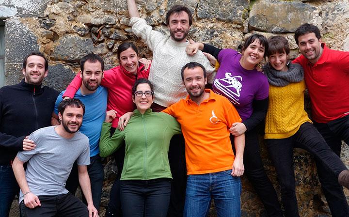 Euskarabentura, gazteen espedizioa Euskal Herrian