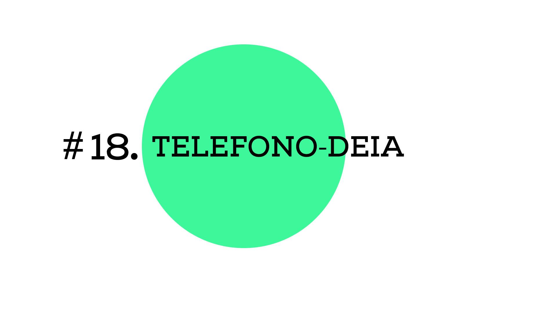 Telefono-deia (A1E18)