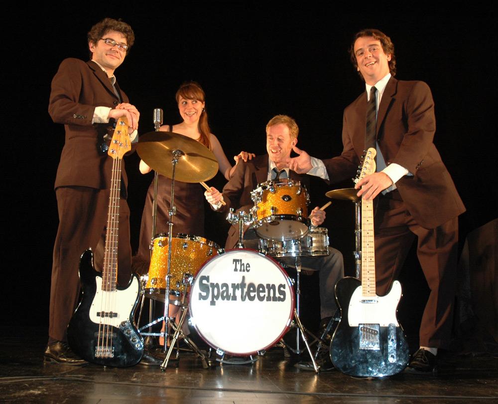 Euskararen eguna ospatzeko: The Sparteens taldearen Bagare