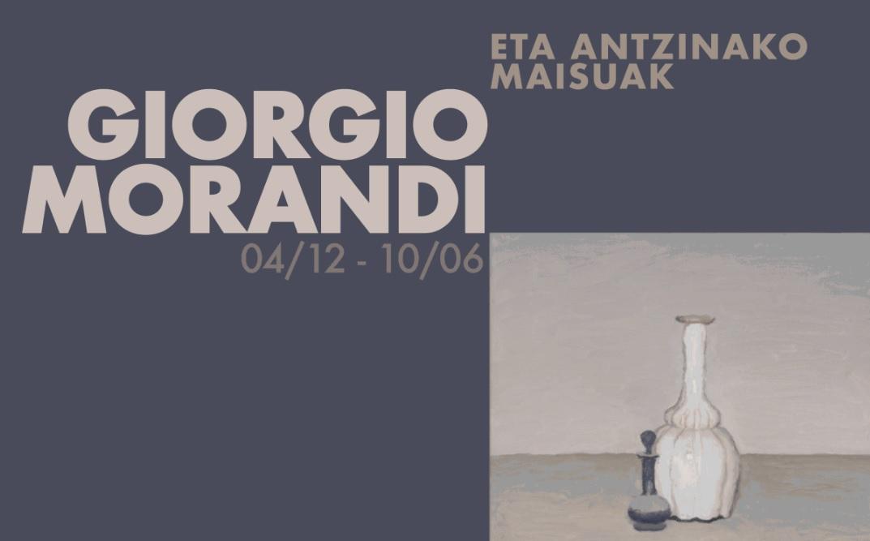 Guggenheim Bilbaon, atzera begira: Giorgio Morandi eta antzinako maisuak