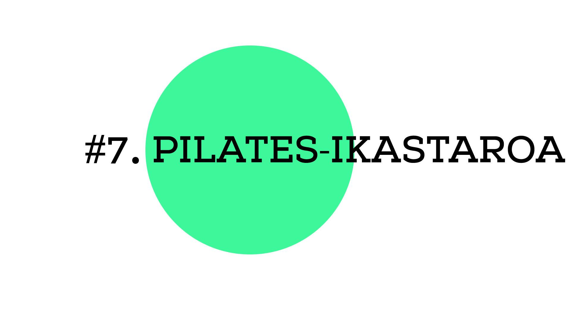 Pilates-ikastaroa (A1E07)